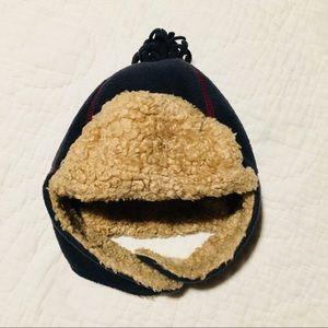 Gap Trapper Hat Navy/Red 3-5